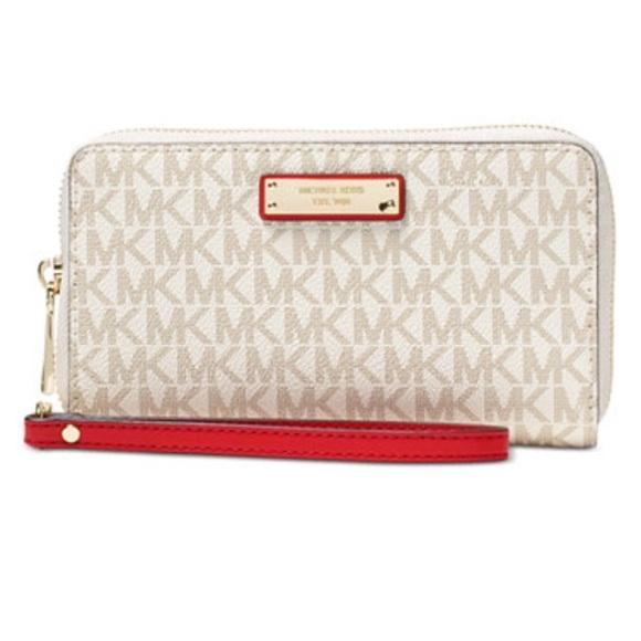 ee584fc52e88a0 Michael Kors Bags | Brand New Authentic Mk Signature Wallet | Poshmark